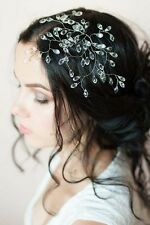 Bridal Crystal Hair Vine Comb Wedding Rhinestone Headband Pin Headpiece Tiara