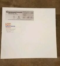 CHRONOMITE LABS R-48L/208 Elect Tankless Water Heater, 208V