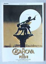 CP DU FILM - LE CASANOVA DE FELLINI - NUGERON E90 *