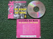 "THE MAMAS & THE PAPAS ""Leyendas Del Rock 8"" RARE LIVE CD Spain 1997"