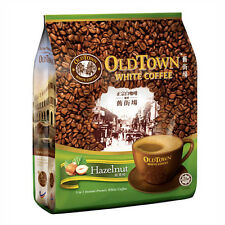Old Town White Coffee 3 in 1 Hazelnut 15 Sachets Net WT 600g