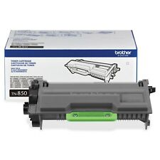 Brother Genuine TN850 High Yield Mono Laser Black Toner Cartridge 2 Pack