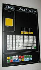 ANCA Fastload Operators Console FP Membrane (16.2021.1002)