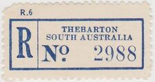 (RB81) 1950 SA registration label Thebarton no2988