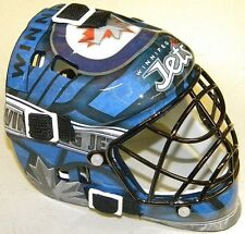 WINNIPEG JETS NHL PROFESSIONAL HOCKEY TEAM DESIGN FRANKLIN MINI GOALIE MASK