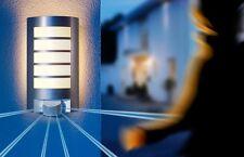 Applique Détecteur Steinel L12 Lampe murale Luminaire en aluminium 657918 9497
