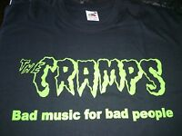 THE CRAMPS - BAD MUSIC FOR BAD PEOPLE - COTTON T-SHIRT