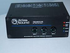 Atlas Sound TSD-MIX31RL audio mixer