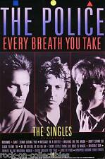 The Police 1986 Every Breath Singles Collection Original Poster Var. 2