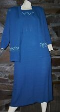 AWESOME OF 2 PIECE DRESS SUIT EVENING DRESS K STUDIO SIZE 6