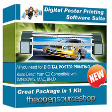 Professional Photo Editing Software Kit - Learn To Create Large Poster Prints