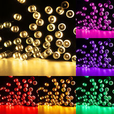 BATTERY OPERATED LED X MAS FAIRY LIGHTS WITH TIMER FOR INDOOR AND OUTDOOR 8MODES