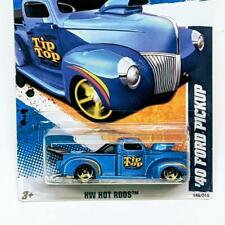 2011 Hot Wheels HW Hot Rods 8/1 1940 '40 Ford Pickup Blue Gold 5sp #146 Tip Top