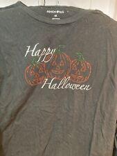 Fashion Bug cotton Bling Halloween T Shirt Tee Black Shirt Halloween T Shirt 4xl