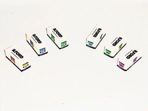 6 x Rolls ILFORD various B&W 120 MED FORMAT NEG Films--expiry: 11/2021 - 08/2022