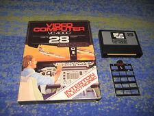 INTERTON 4000 VC 4000 Cockpit NR. 28 BIG BOX Rarität mit Tastenschablone