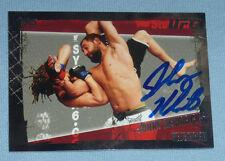 Johny Hendricks Signed 2010 Topps UFC Card #58 PSA/DNA COA Autograph 167 171 185