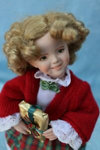 """Portrait # 5 - Shirley Temple - OOAK - 11"""" Doll - from mold Dianna Effner - MAFD"""