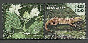 Salvador - Mail 2003 Yvert 1559/60 MNH Wildlife And Flowers