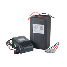 Electric Bike 36V 20Ah LiFePO4 Battery Scooter + BMS Rechargeable Powers Charger
