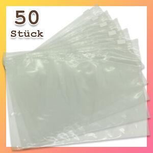 50 Stück Gleitverschlussbeutel Reißverschlussbeutel ZIP-Beutel 60µ