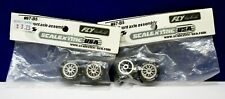 Scalextric/ Fly #87-B5 Tires Wheels Ft Axle Assy 2 sealed packages (2 pair)