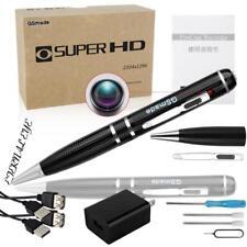 Spy Camera 2K Star Light Night Vision Pen GSmade Full HD 1296p Video...