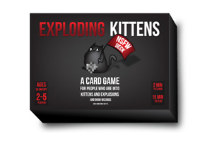 Game - Exploding Kittens Cards (NSFW Desk) Party Strategy Adult Card Game Fun