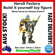 Hero Factory Set Complete with Instructions Hero5 OgrumFrost Beast Searox new