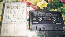 BUDDY HOLLY LIVES VINTAGE AUDIO TAPE CASSETTE