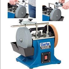 Clarke CWS200B 200mm Whetstone Sharpener (230V)