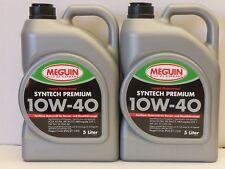 3,55€/l Meguin Megol Motorenöl Syntech Premium SAE 10W-40 10 Ltr