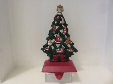 Christmas Stocking Holder - Tree Design - Cast Iron