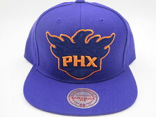 Phoenix Suns Purple Throwback Mitchell & Ness NBA Snapback Hat Cap