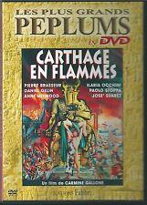 DVD NEUF CARTHAGE EN FLAMME PIERRE BRASSEUR DANIEL GELIN ANNE HEYWOOD