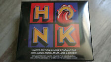 Rolling Stones Honk limited edition cd + koozie +sunglasses