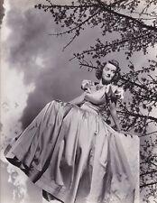 BETTE DAVIS Pretty Original Vintage LONGWORTH Stamped Warner Bros Portrait Photo