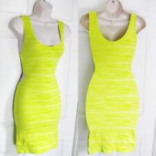 BEBE TINA TWO TONE SIDE CUTOUTS BODYCON NEW DRESS MEDIUM M LARGE L M/L