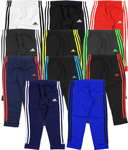 Adidas Youth Game Time 3 Stripe Fleece Pants, Color Options