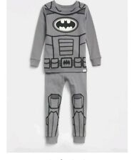 New BABY Gap DC Glow in Dark 6 12 months BATMAN PJ Pajamas boy
