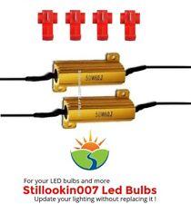 2 - Universal - 50 watt 6 ohm load resistors. Fix hyper flash, bulb out errors