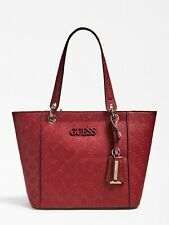 GUESS Merlot Red Logo Handbag, Shoulder Bag, Large Size, New With Tags