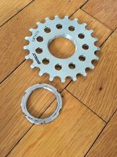 """SURLY TRACK COG 1/8"""" 21t SILVER FIXED GEAR And Lock Ring"""