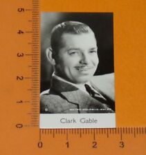 BRIDGEWATER CARD 1940 FILM STARS MOVIE HOLLYWOOD CINEMA CLARK GABLE