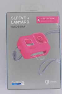 GoPro AJSST-007 Hero08 Electric Pink Silicone Sleeve + Lanyard New in Box