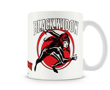 Black Widow The Avengers Kaffee Becher Coffee Mug Tasse Marvel Classic Comics