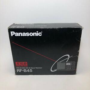 Panasonic RF-B45 FM LW MW SW SSB, PLL Synthesized Receiver Radio w/ Box