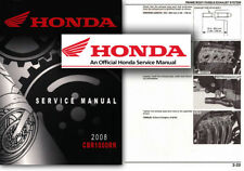Honda CBR1000RR FIREBLADE Service Workshop Repair Manual 2008 - 2011 CBR1000