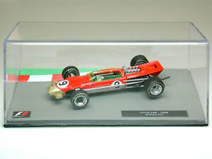 GRAHAM HILL Lotus 49B - F1 Racing Car 1968 - Collectable Model - 1:43 Scale