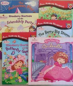 Strawberry Shortcake Story Books Lot of 6